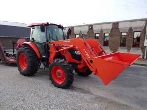 KUBOTA TRACTOR W/ LOADER - BUSHHOG - Online Bidding Only Ends Wed., Feb. 12th @ 3:00 PM CST