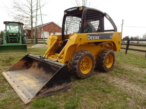 JOHN DEERE SKID STEER - FARM MACHINERY - STOCK TRAILER - Online Bidding Ends TUE, MARCH 24 @ 5:00 PM EDT