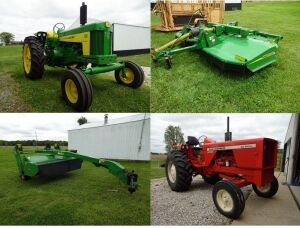 TRACTORS - FARM EQUIPMENT - PONTOON BOAT - Online Bidding Ends THURSDAY, JUNE 25 @ 6:00 PM EDT