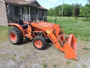 KUBOTA TRACTOR-TRAILERS-FARM EQUIPMENT-TOOLS-MISC-BIDDING ENDS THURS., JUNE 25TH @ 4 PM CDT