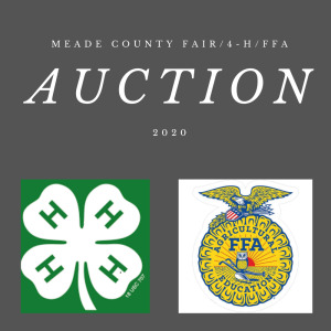 MEADE COUNTY FAIR 4-H & FFA YOUTH LIVESTOCK AUCTION - Online Bidding ends Wednesday, July 22 @ 5:00 PM EDT