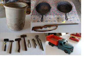 TRACTOR - EQUIPMENT - TOOLS - HOME GOODS - COLLECTIBLES - Online Bidding Ends TUE, OCT 6 @ 5:00 PM EDT