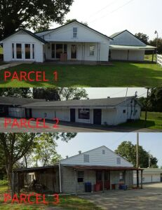 HOME - TWO COMMERCIAL BUILDINGS - Online Bidding Ends TUESDAY, OCTOBER 13 @ 4:00 PM EDT