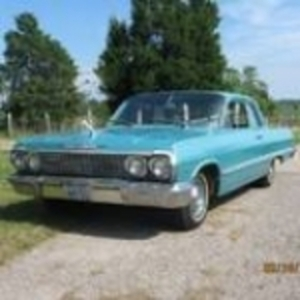 Online Bidding Only 1963 Chevy Belair
