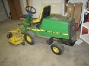 Online Bidding Only-Mower&Misc.-Ends Sept. 30 @ 4:30 PM ED