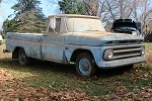 Online Bidding Only - 1966 Chevy pickup - Lawn Mower - Port. Bui