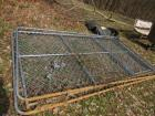 10 foot x 6 foot dog kennel with walk through gate