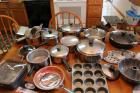 Pots and Pans, Gotham Deep Square Pan and Skillet