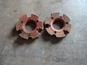 Wheel weights for Cub tractor