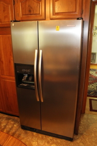 KitchenAid Stainless Front Side by Side Refrigerator