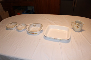 Baking Dishes and Pitcher
