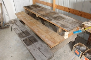 Modified Picnic Table
