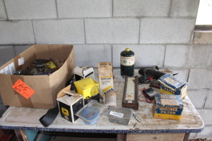 Scale, Light, Fuel Filters, Propane Tank, Misc