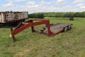 15 ft. Gooseneck Trailer