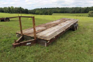 26 ft. Ball Hitch Flatbed Trailer