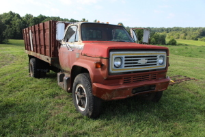 1979 Chevy C70 Scottsdale-Has no title, Junked Title