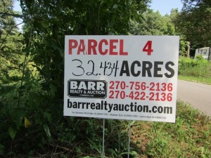Parcel 4: 32.434 acres, open and wooded acreage, pond and fronts Smiley Basham Lane. ALL LOTS WILL REMAIN OPEN FOR BIDS UNTIL BIDDING ON EACH LOT HAS ENDED.