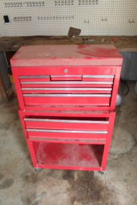 2 piece roll around tool box