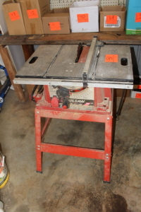Skillsaw table saw