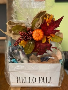 Norwex Hello Fall Gift Basket donated by Rhonda Hager