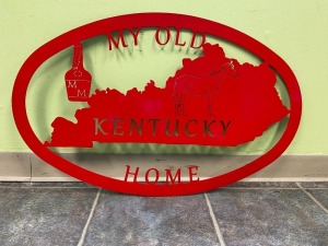 2nd Grade - Mrs. Galloway's Class: Metal My Old KY Home Sign