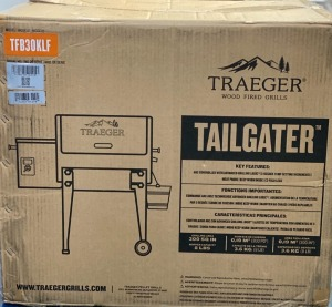 Traeger Tailgater Wood Fire Grill Donated by Save-Rite Drugs