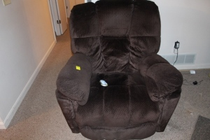 Tranquil ease electric recliner with remote