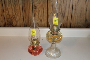 Dorset oil lamp and Farms Lamplight