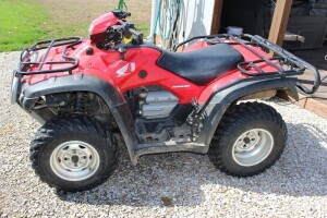 2005 Honda Rubicon ATV