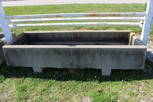 Concrete Feeders 94 in. long x 32 in. wide x 16 in. tall