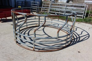 Hay Ring Galvanized