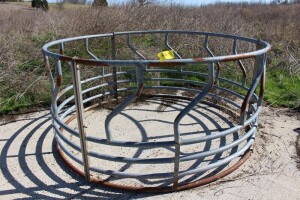 Galvanized Hay Ring