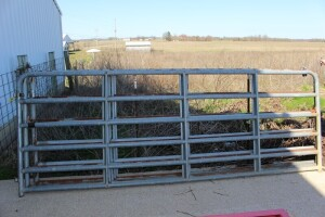 3 - 12 ft. Galvanized Gates