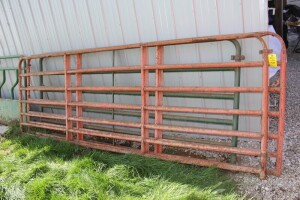2 - 12 ft. Gates & 1 - 10 ft. Gate