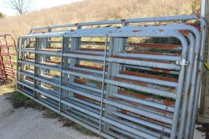 5 - 12 ft. Galvanized Gates