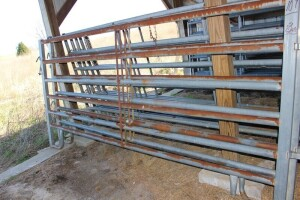 2 - 10 ft. heavy Duty Corral Panels