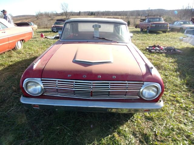 1963 Ford Falcon Convertible - Current price: $6500
