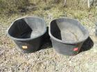 (2) 110 gallon water troughs