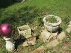 Concrete flower pots and miscellaneous